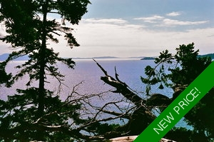 Saturna Island 1.7 acre waterfront lot for sale!