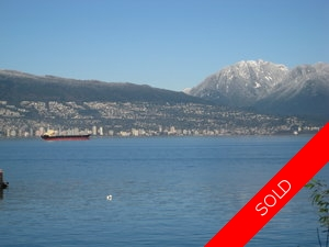 Kitsilano Waterfront for sale:  3 bedroom 2,780 sq.ft. (Listed 2009-05-01)